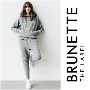 Brunette The Label Middle Suster Joggers Blonde